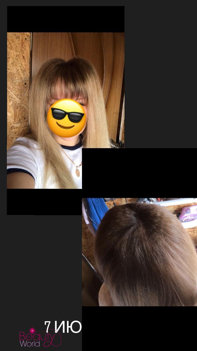 Наращивание волос, прикорневой объём